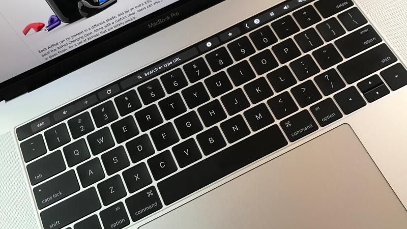 chrome touch bar 16x9