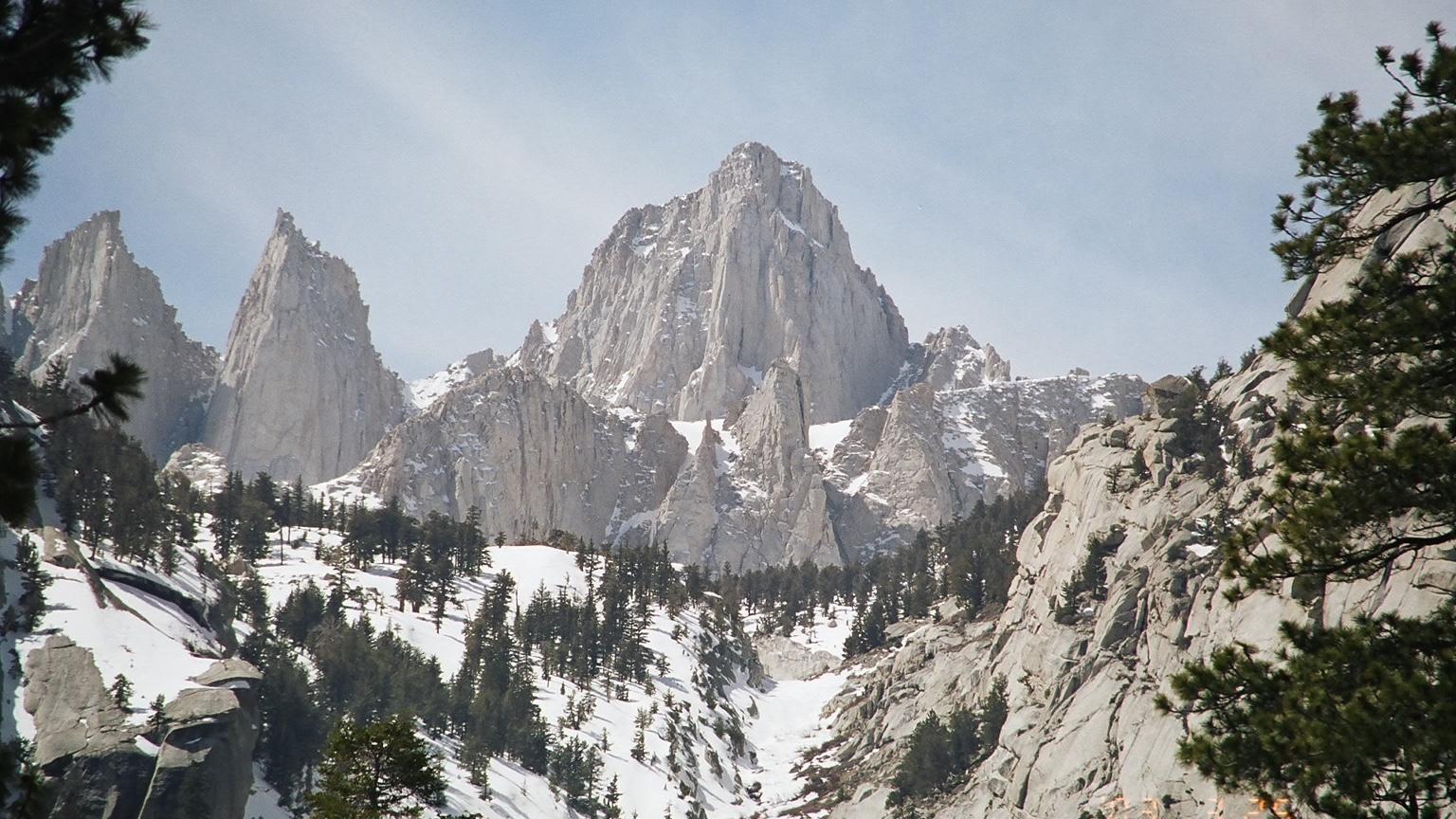Mount Whitney is het hoogste punt in het