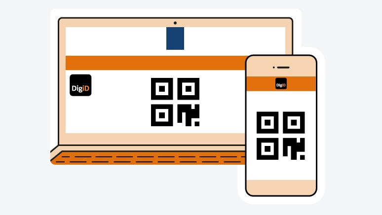 qr code digid