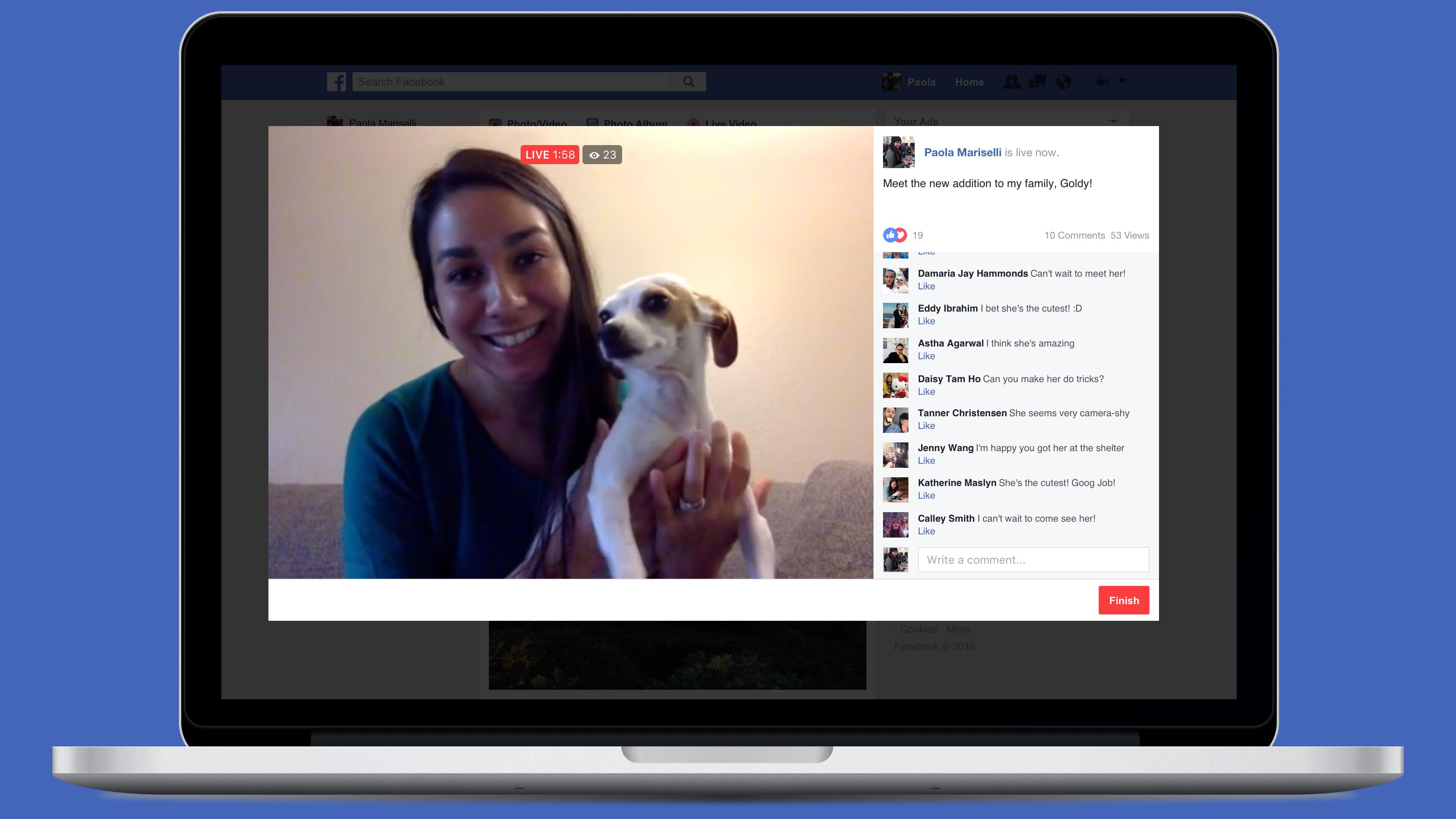 facebook live desktop 16x9
