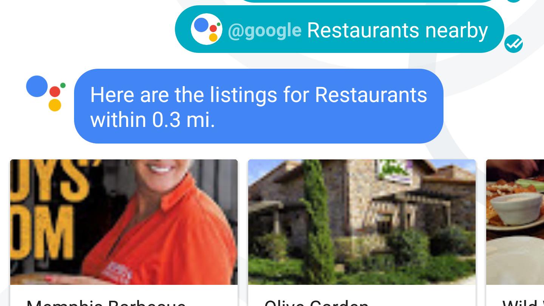 google assistant in gesprekken