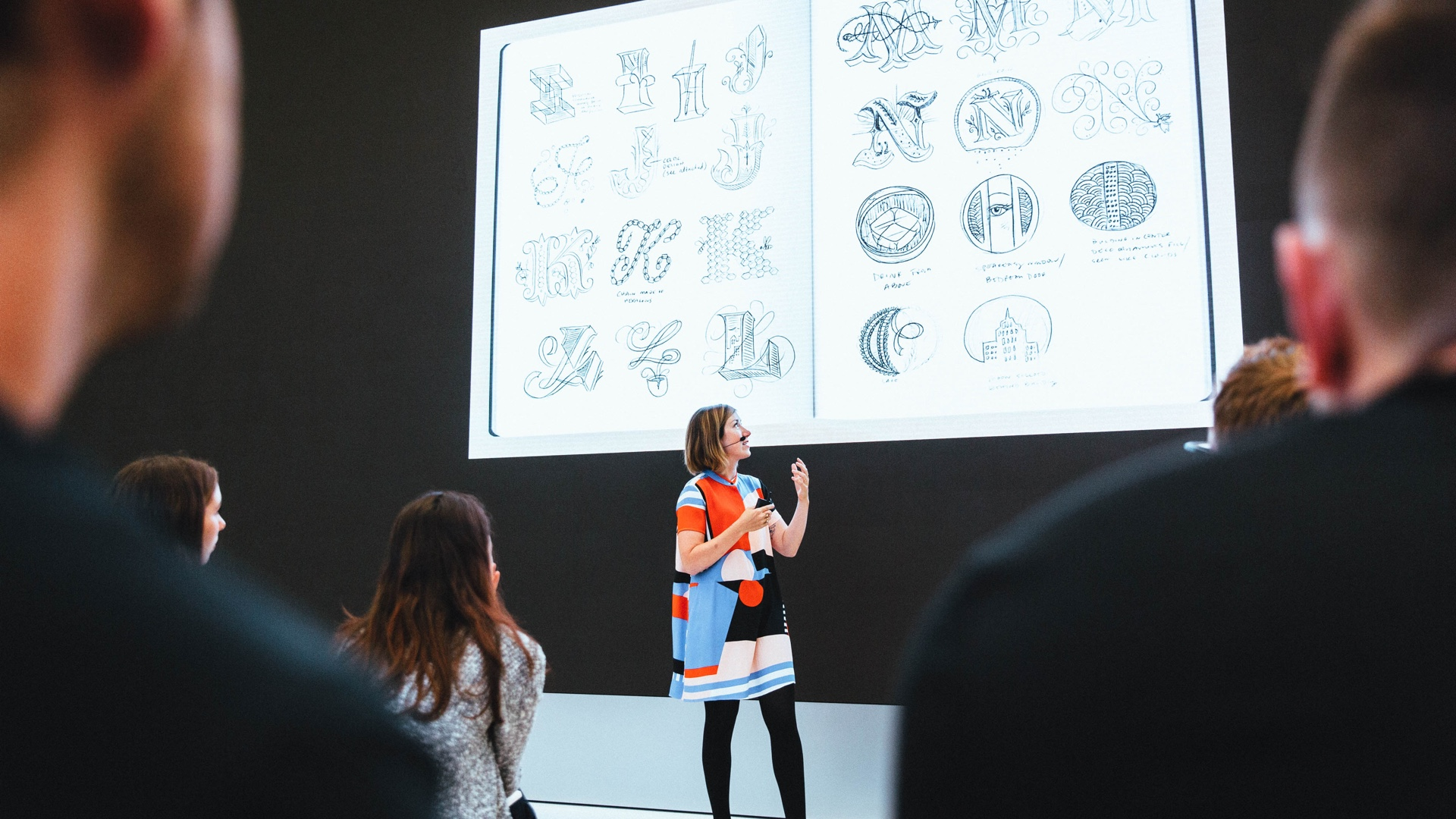 Apple Store workshop typografie Jessica Hische