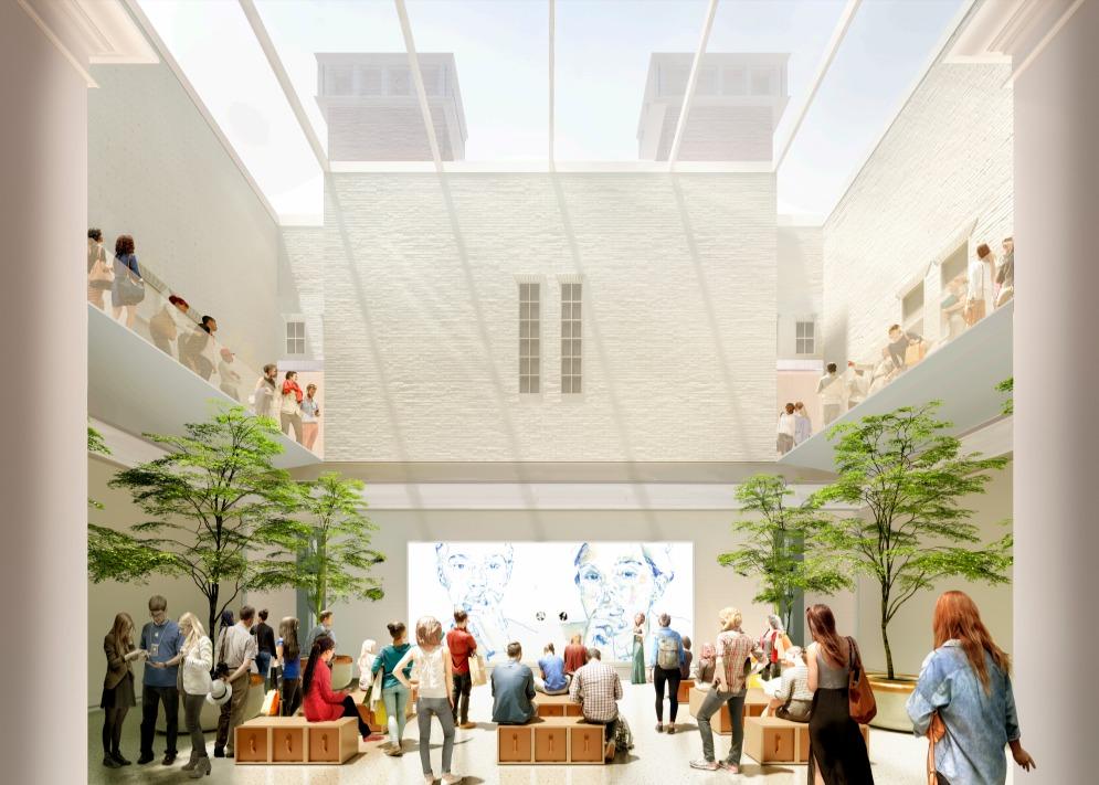 Apple render Carnegie Library of Washington D.C. 2