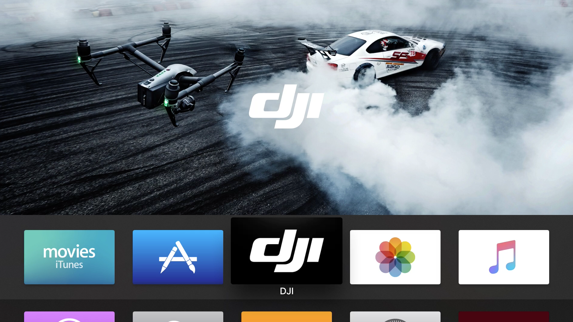 DJI Apple TV 16x9