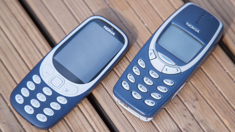 Nokia 3310 nieuwe en oud