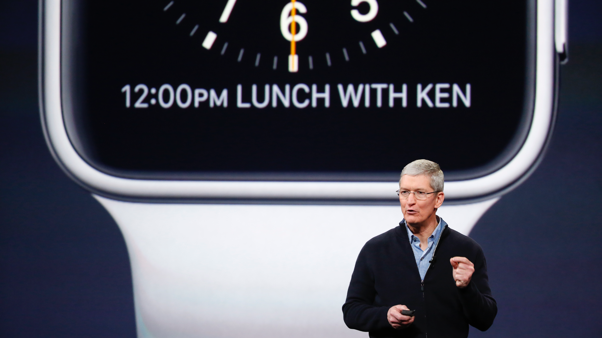 Tim Cook Apple Watch Onthulling (2014) 16x9