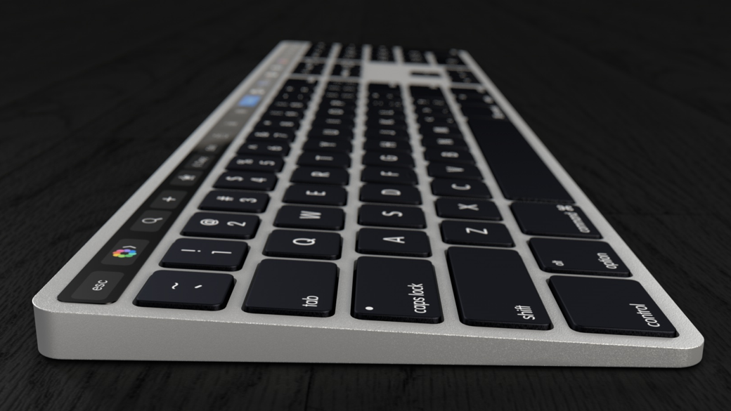Magic Keyboard Touch Bar 16x9