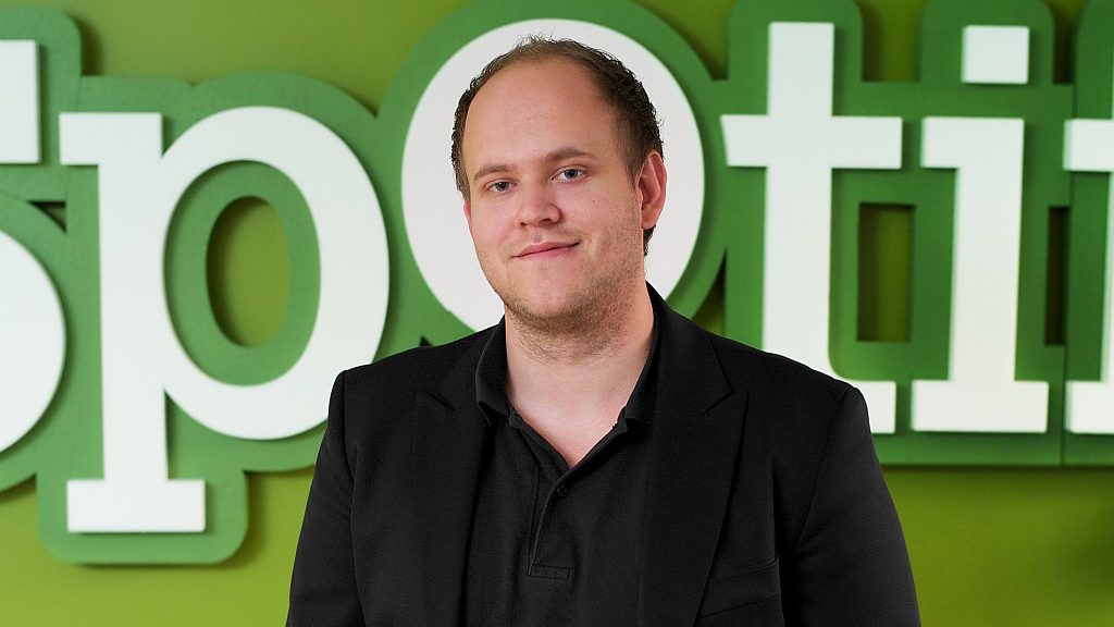Spotify CEO Daniel EK 16x9