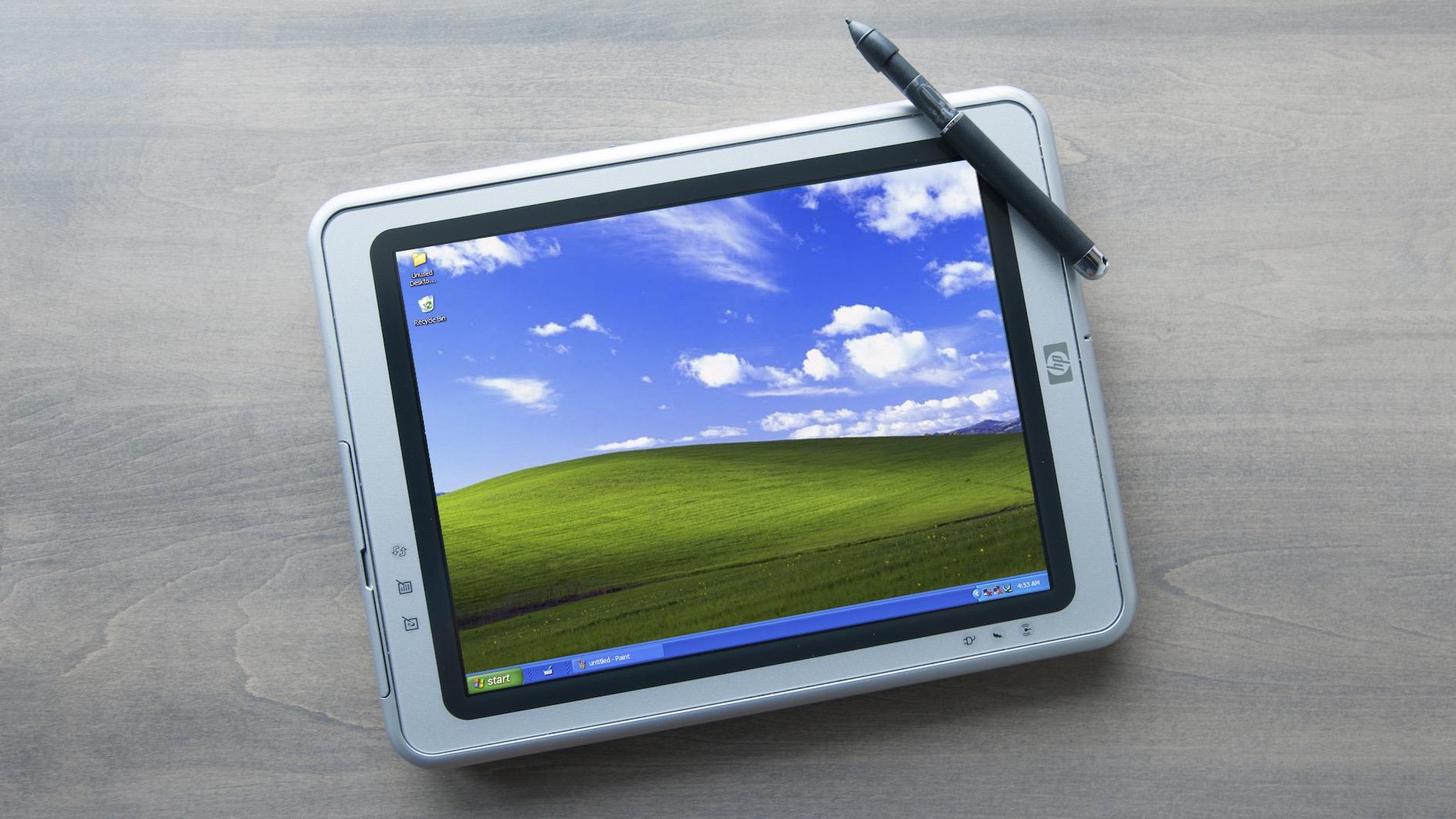 Windows XP tablet