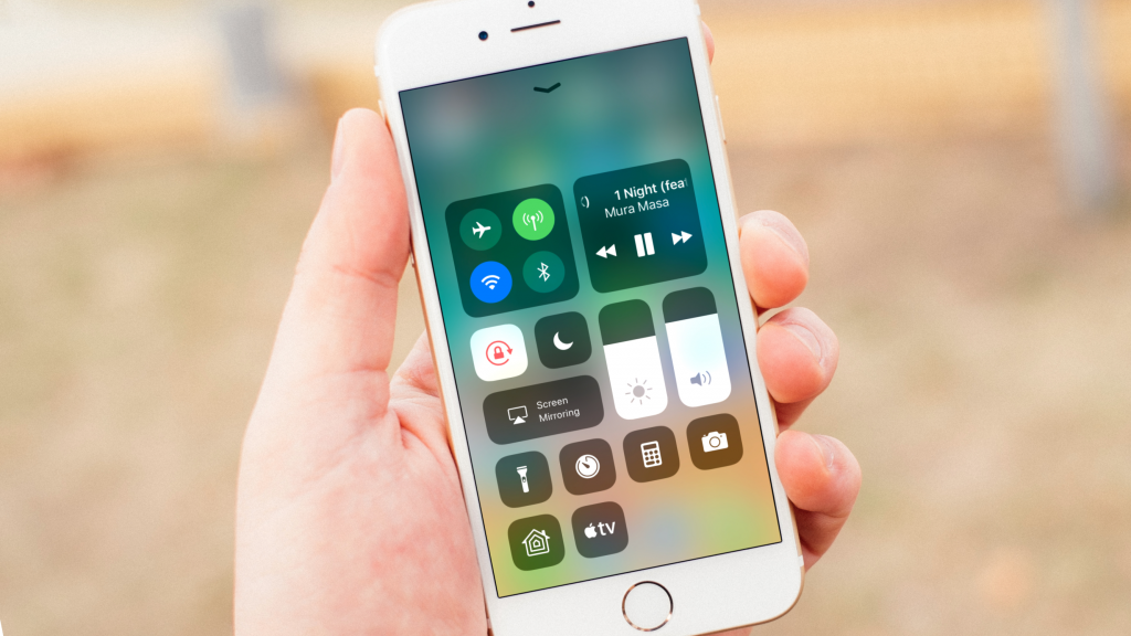 ios 11 control center bedieningspaneel 16x9