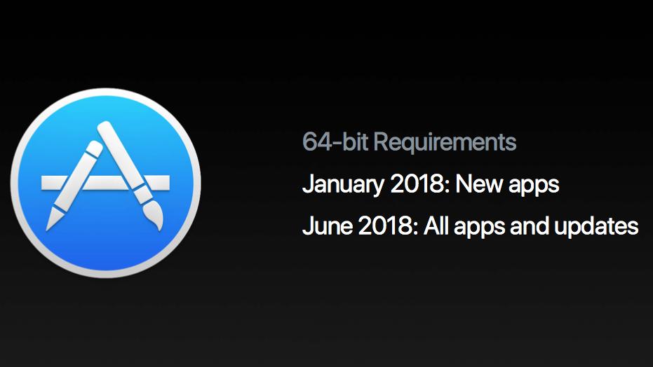 Mac App Store 64-bits
