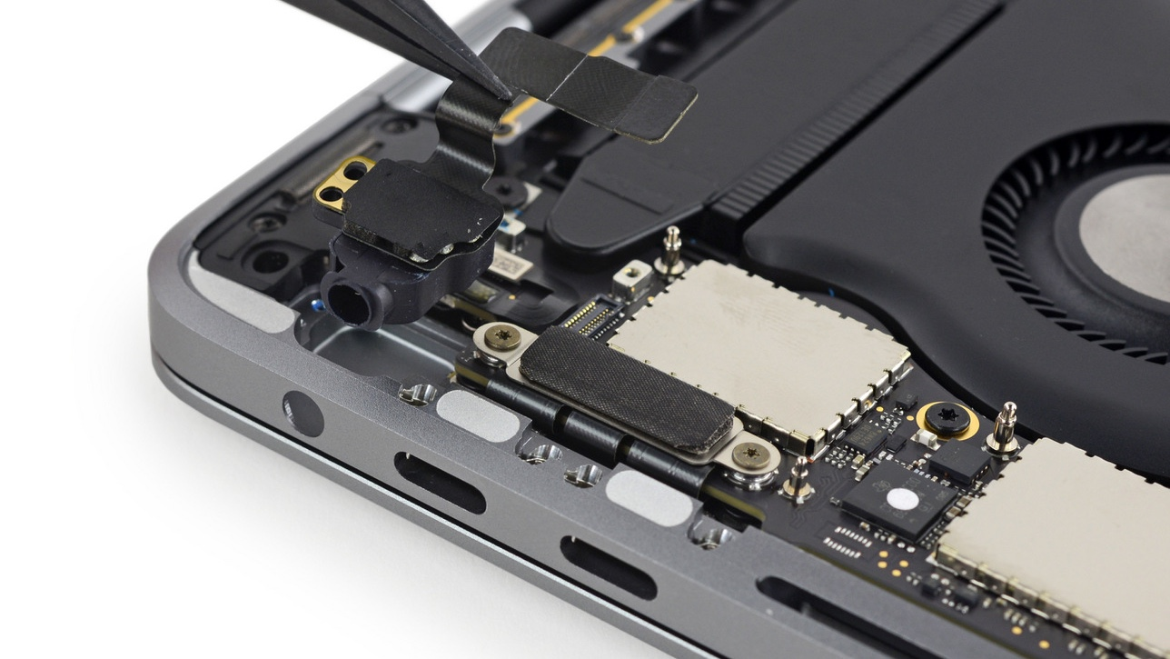 macbook pro ifixit teardown 16x9