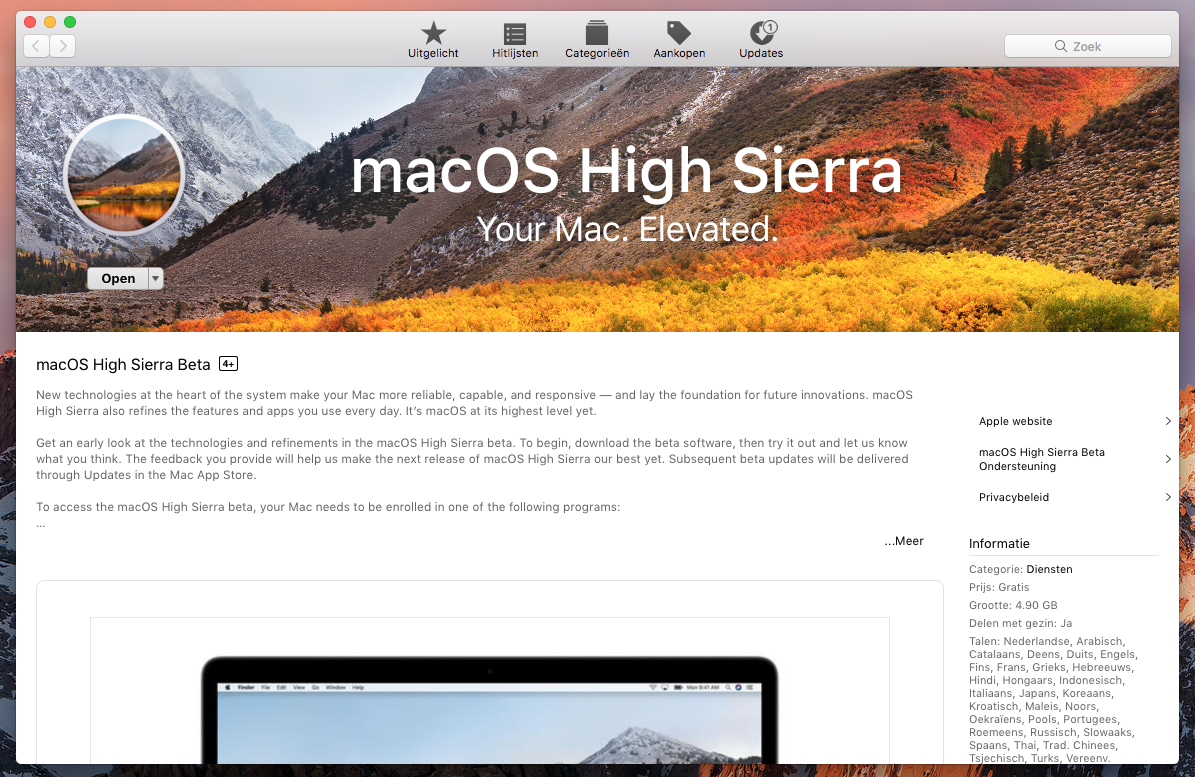 macos 10.13 beta downloaden