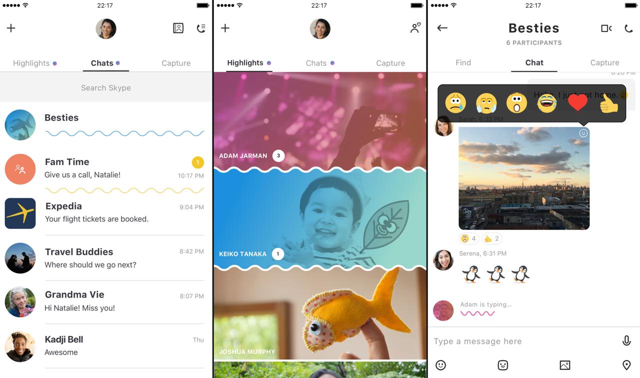skype nieuw 2017 ios app 001