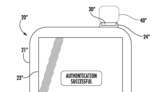 touch id in powerknop patent