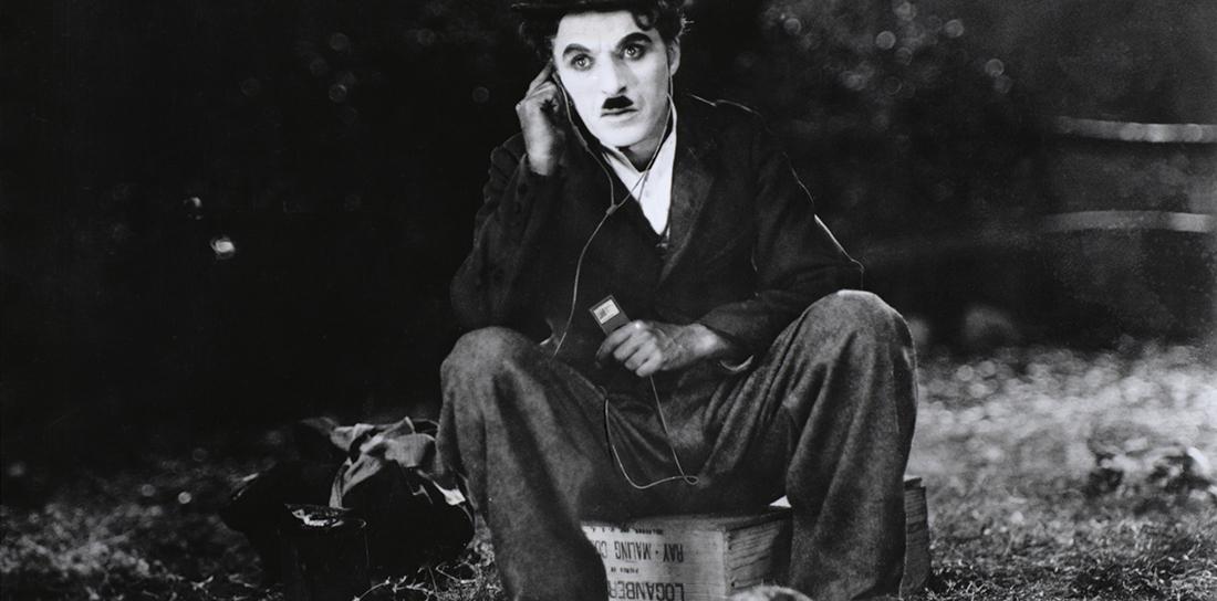 Charlie Chaplin 1928 iPod nano