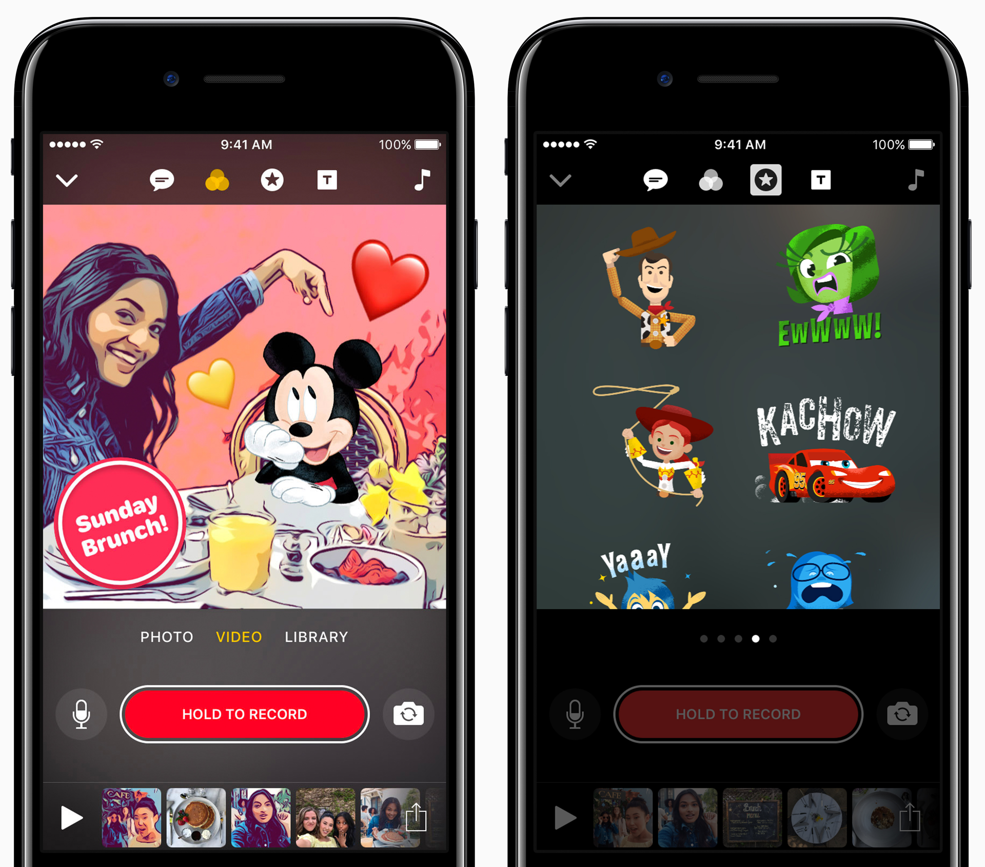 Clips app Apple Disney 001