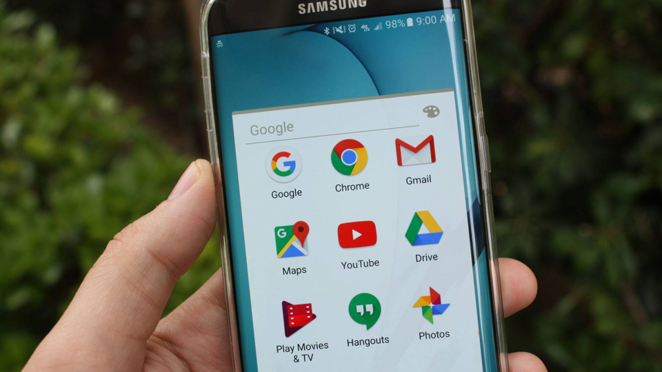 Google Apps op Samsung Android