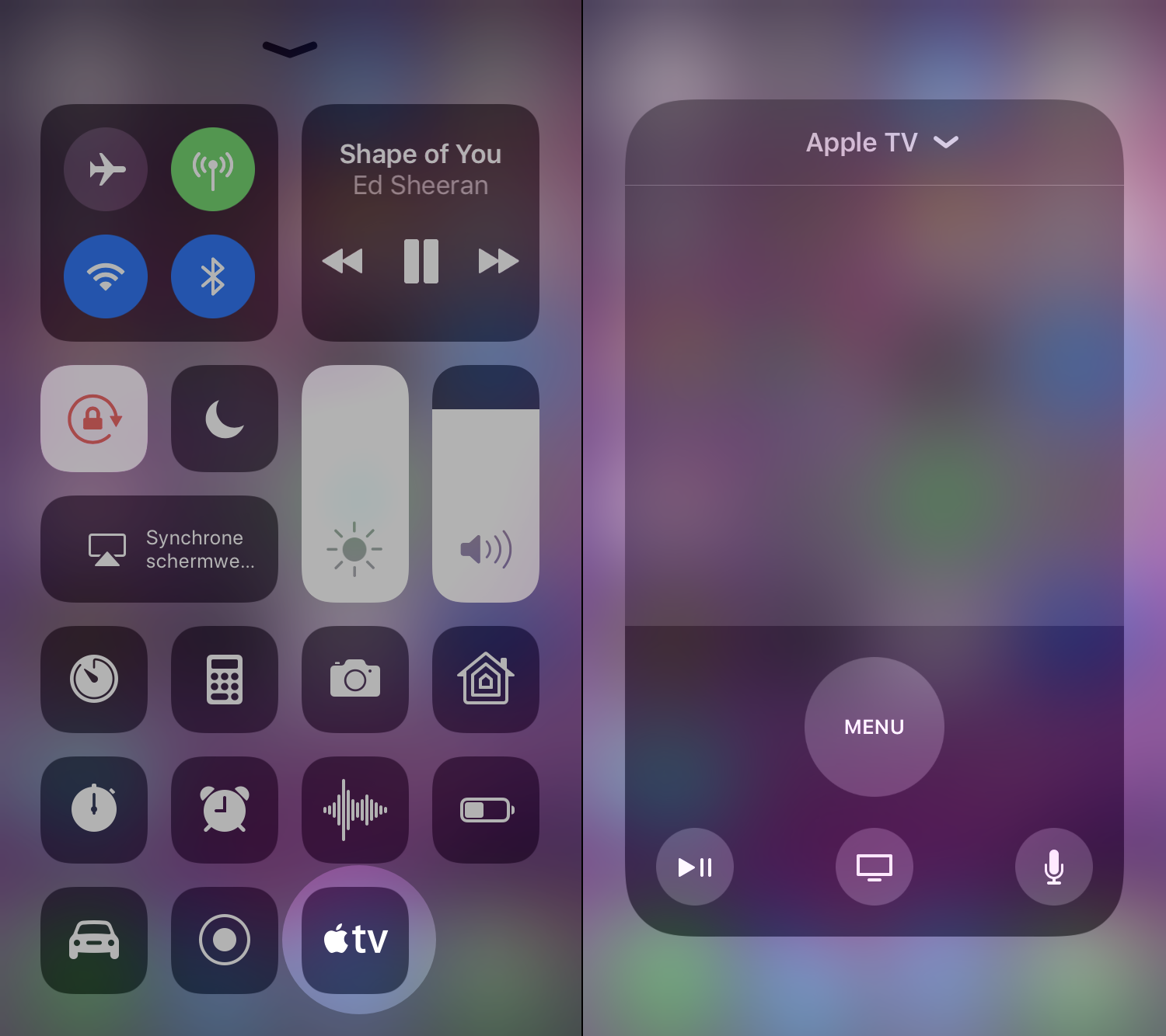 apple tv remote ios 11 002