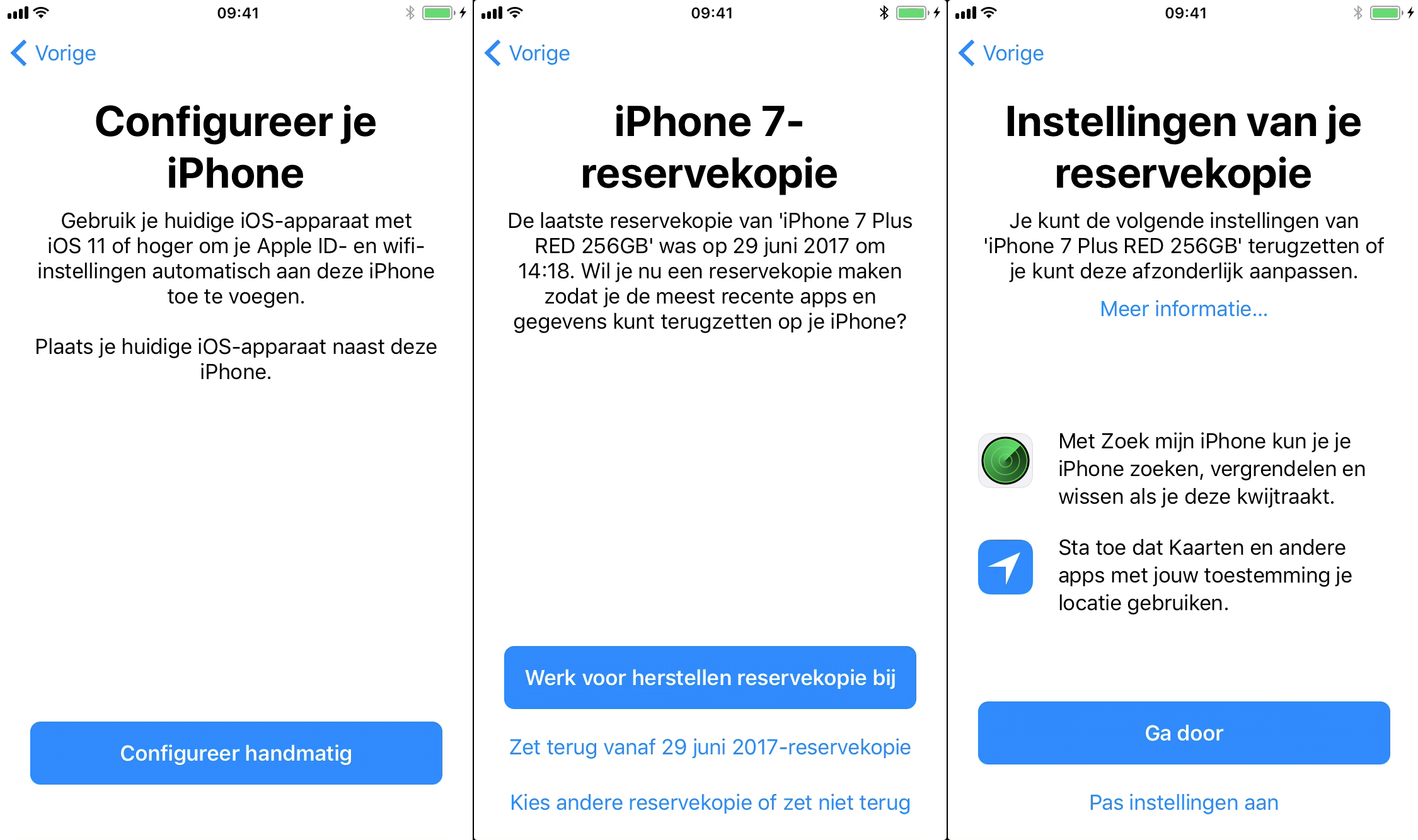 ios 11 nieuwe iphone configureren 001
