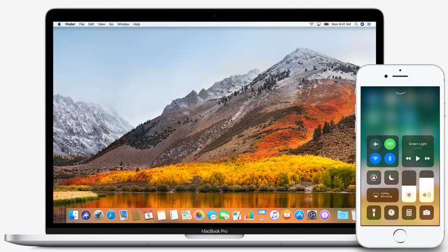 macos 10.13 high sierra ios 11