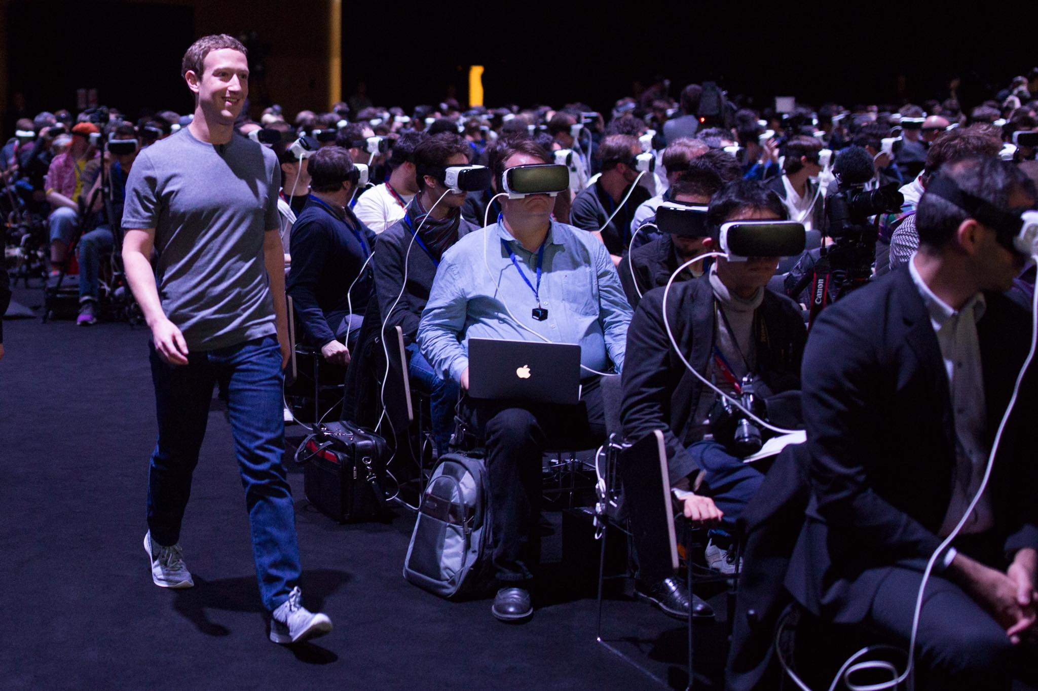 mark zuckerberg facebook vr
