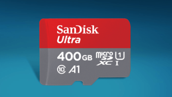 Sandisk 400GB 16x9