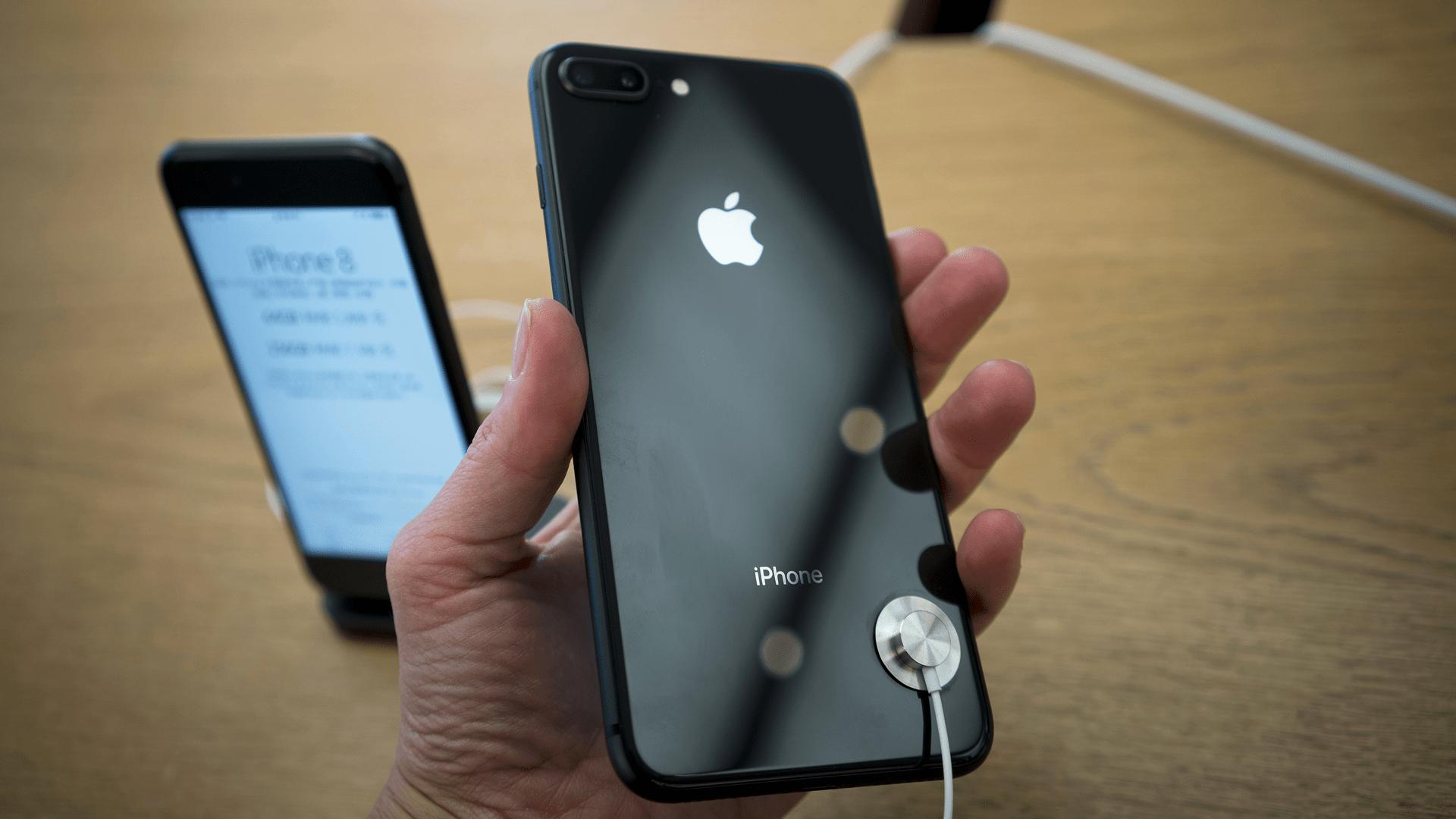 iPhone 8 close up 16x9