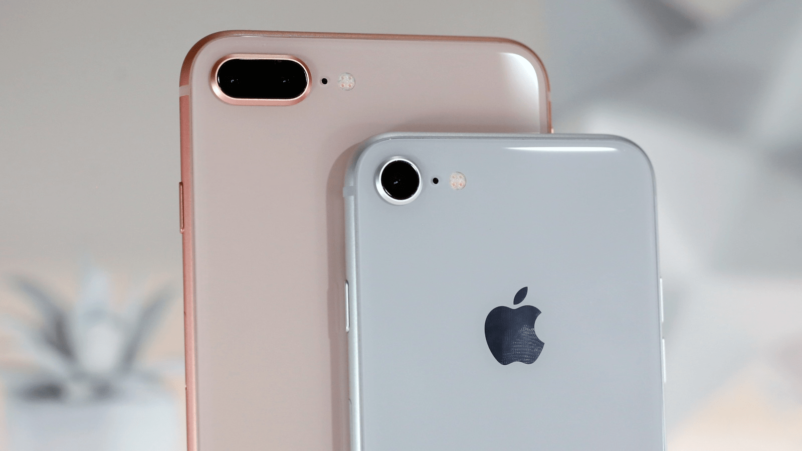 iPhone 8 en iphone 8 Plus 16x9