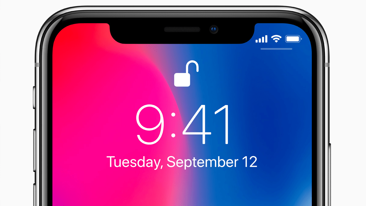 iPhone x Lock Unlock 16x9