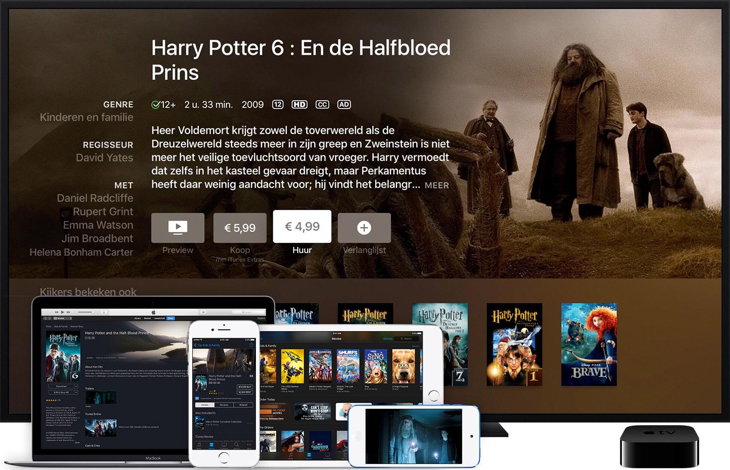 iTunes films huren