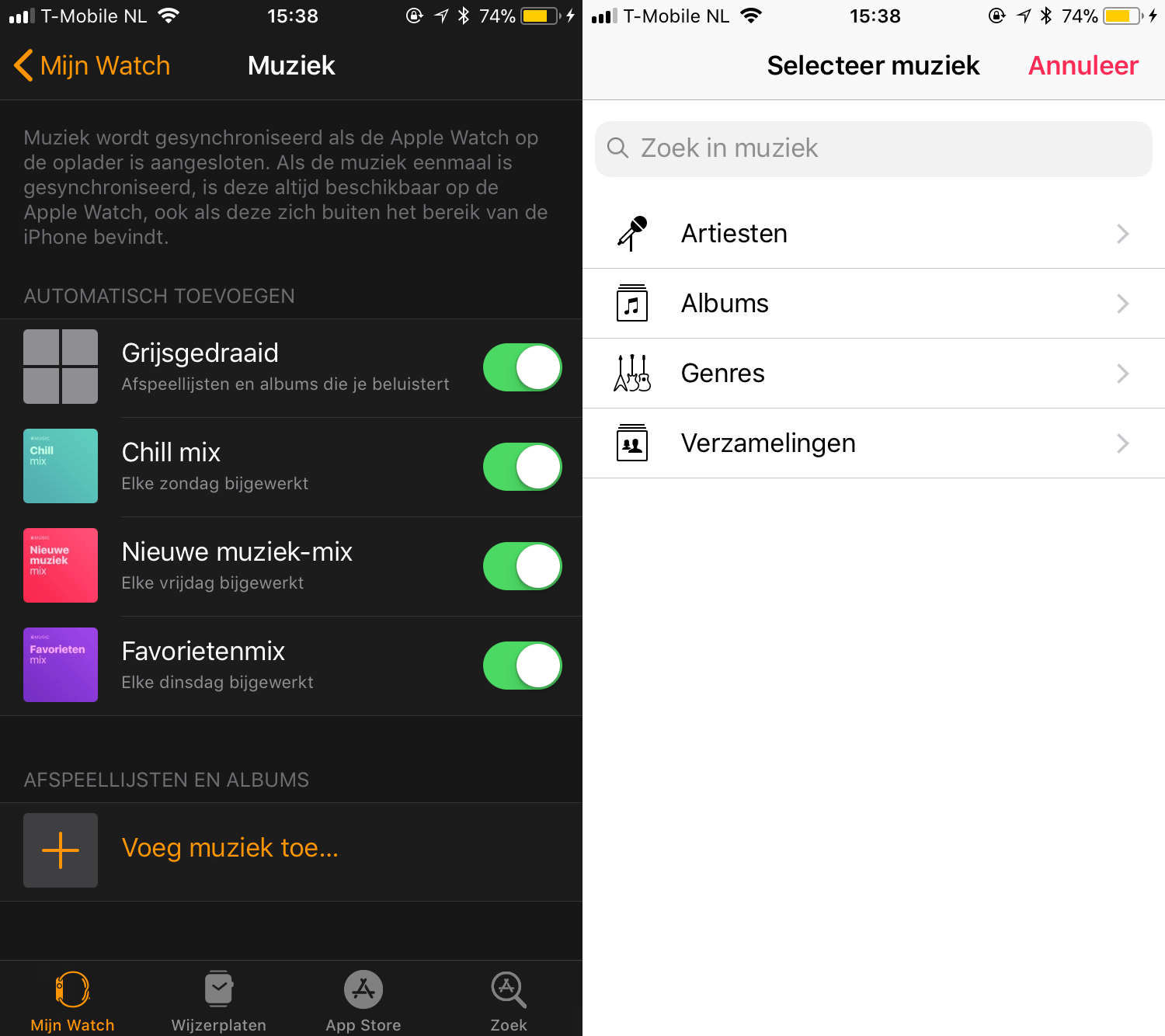 ios 11 apple watch app muziek watchos 4 001