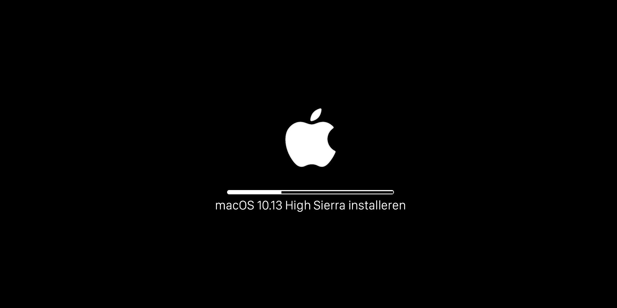 macOS 13.1 High Sierra