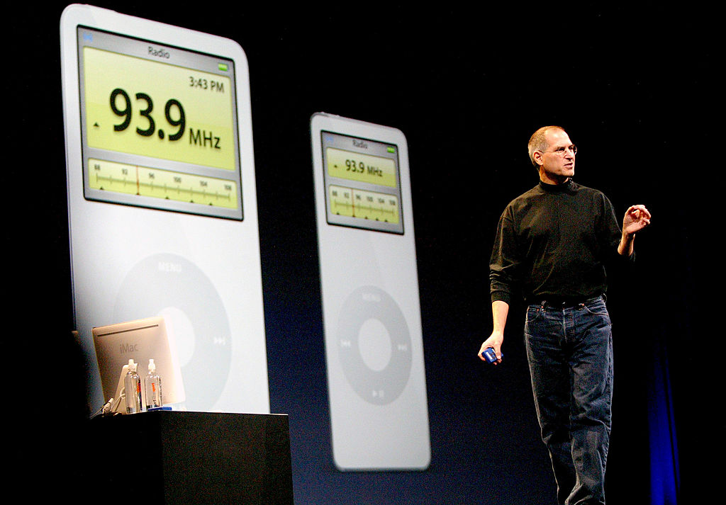 steve jobs ipod radio