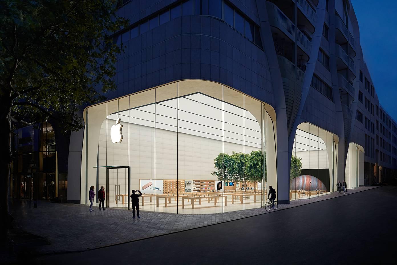 Apple Store Brussel 001