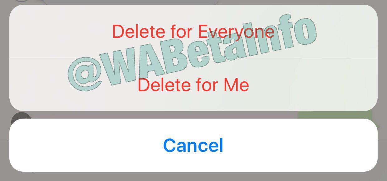 WhatsApp verwijderen screenshot