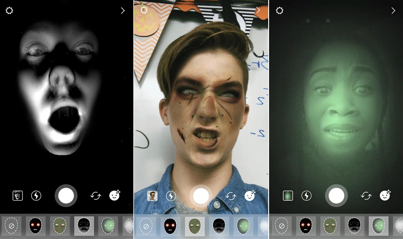 Instragram Halloween 2017 face