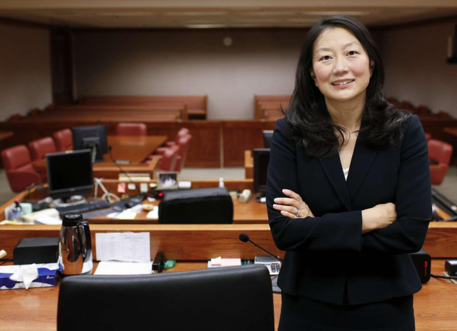 Lucy Koh in rechtbank