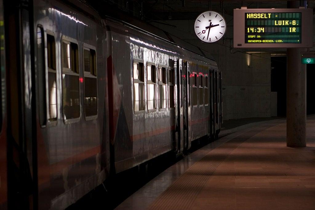 NMBS trein Antwerpen centraal