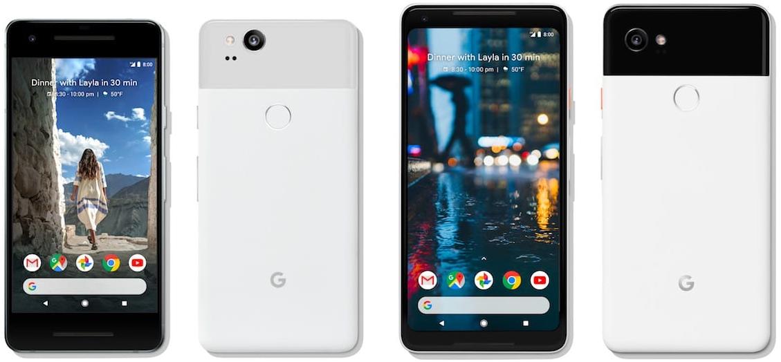 Google Pixel 2 en Pixel 2 XL 001