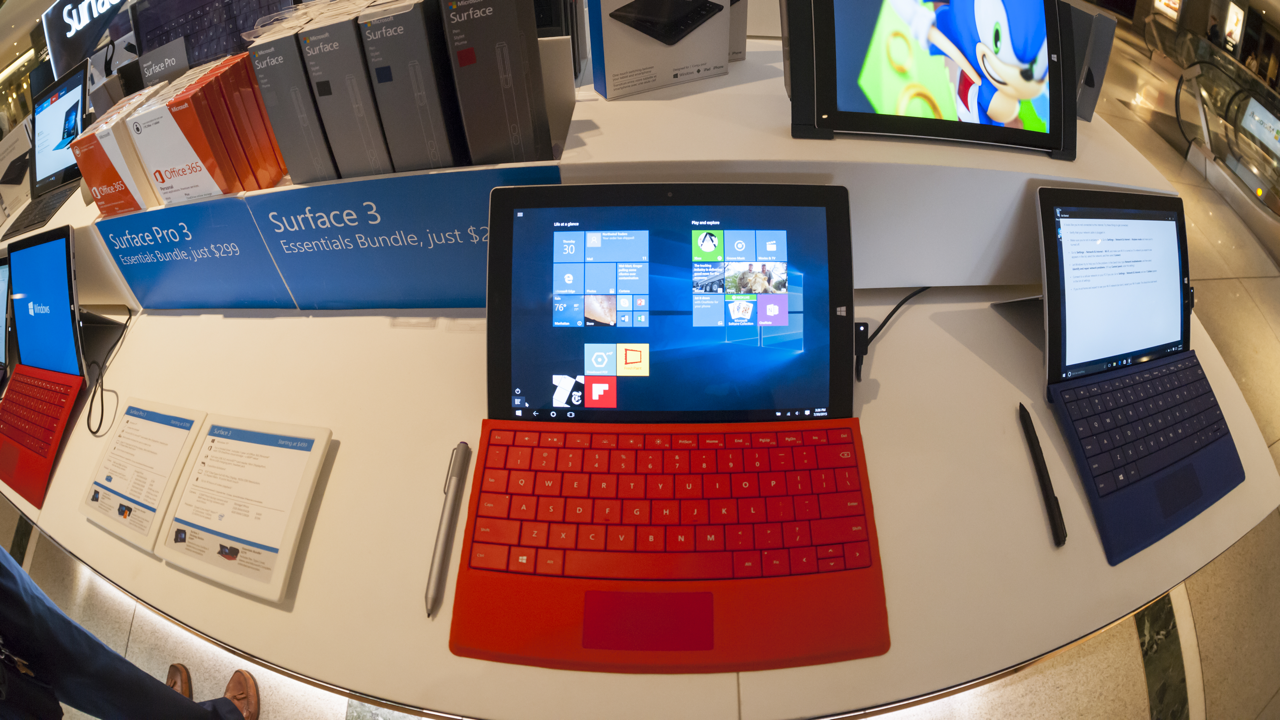 Surface 3 16x9