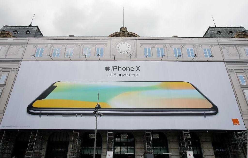 iPhone X 3 november france