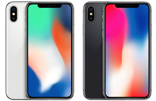 iPhone X kleuropties 001