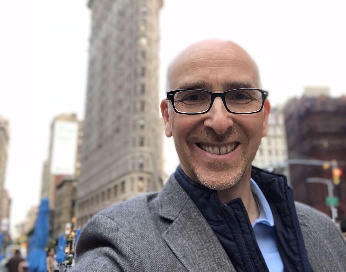 iPhone X selfie portret