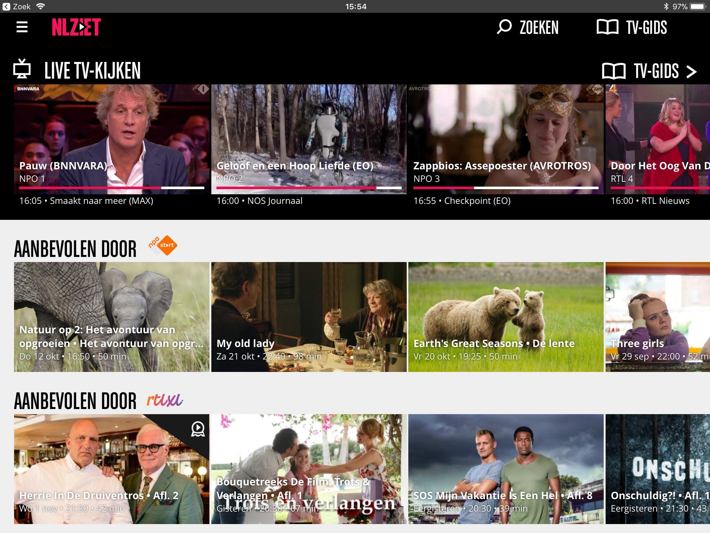 nl ziet screenshot startscherm 2017