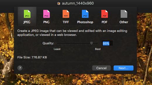 pixelmator heif opslaan nee 001