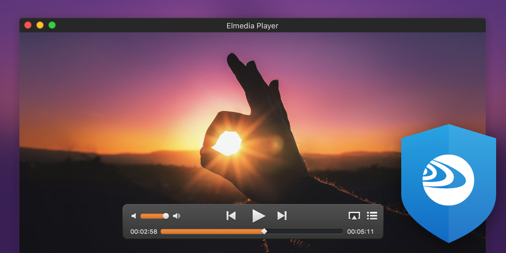screenshot elmedia player mac