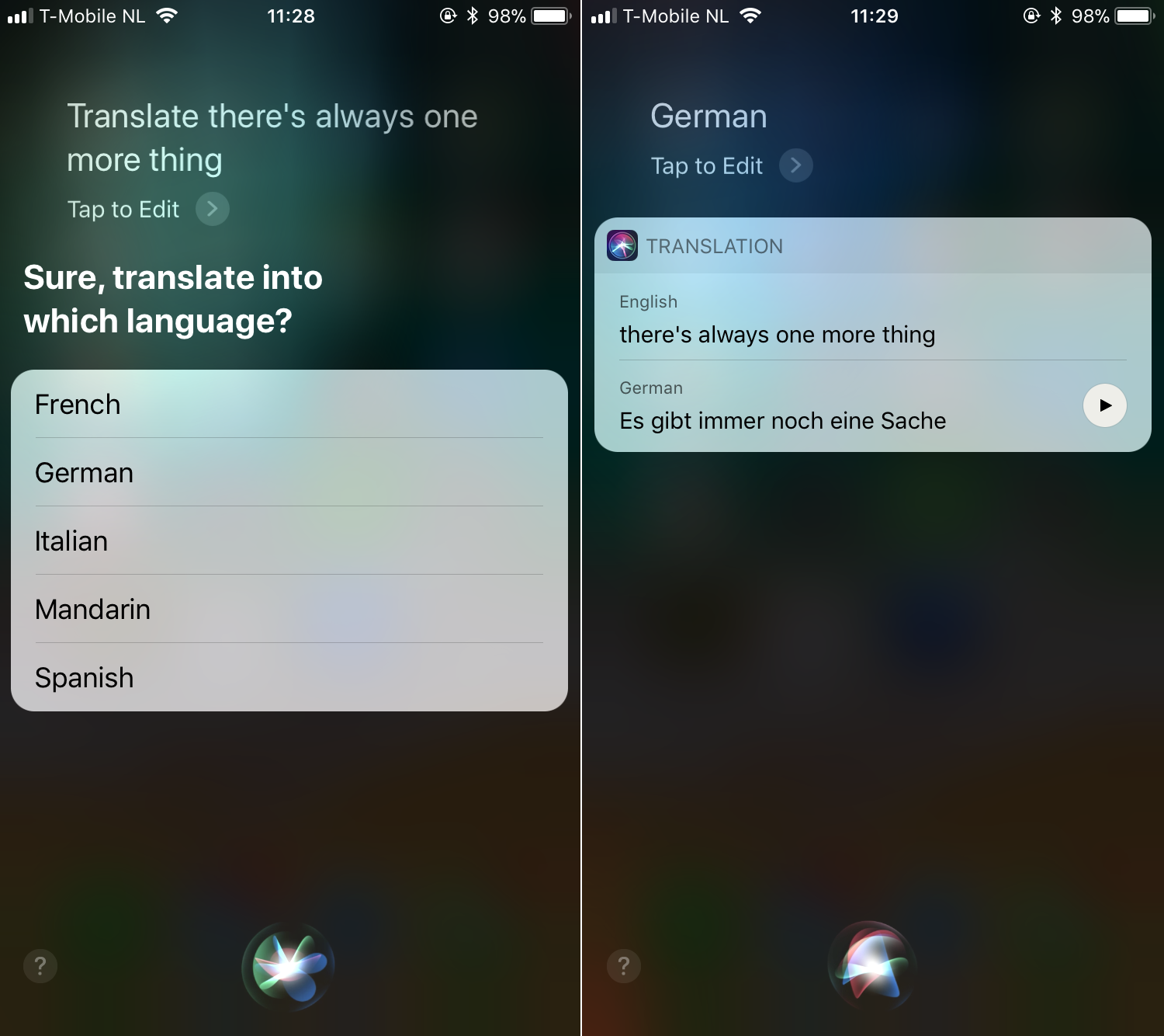 siri translate 001