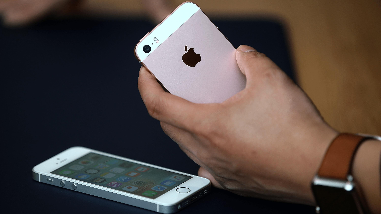 iPhone SE 16x9
