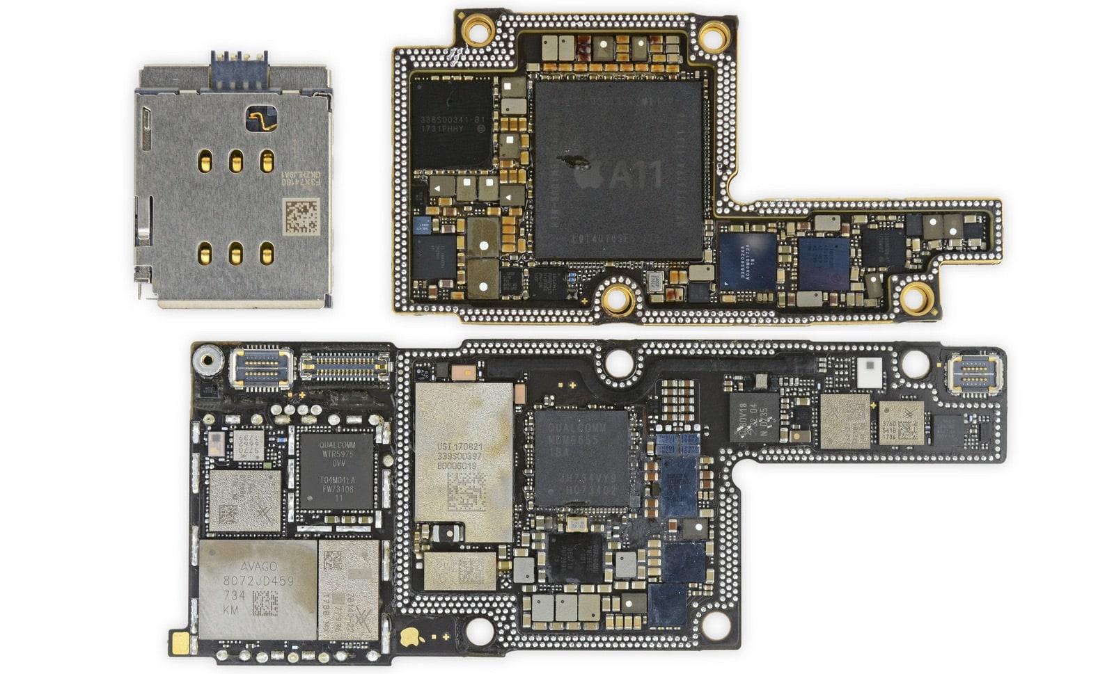 iPhone X moederbord 001